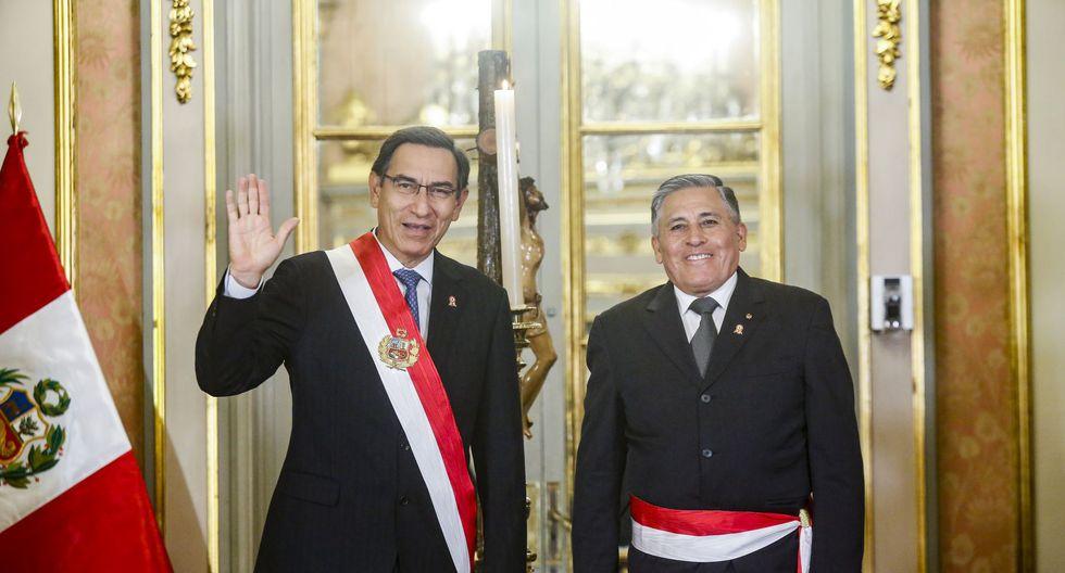 Jorge Moscoso Flores, ministro de Relaciones Exteriores. Renunció el 30 de septiembre de 2019. (Foto: Presidencia Perú)