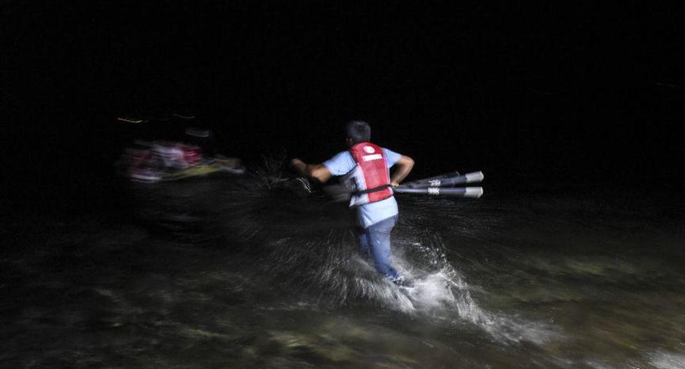 Inmigrantes en Turquía se lanzan al Mediterráneo para llegar a la isla griega de Kos (Foto: AFP)