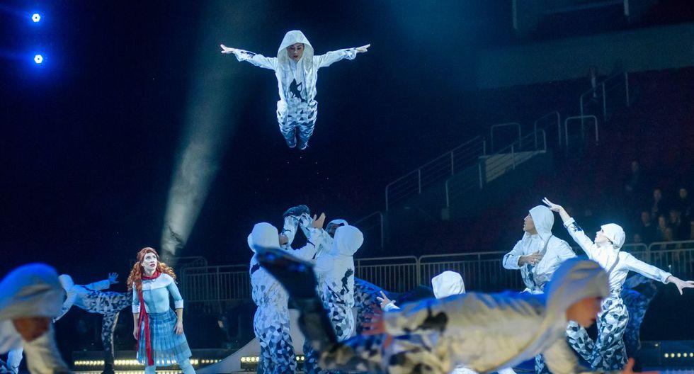 La plataforma de Cirque du Soleil estará activa para el deleite de los amantes del circo. (AFP).
