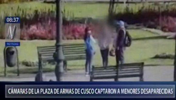 Dos personas alertaron a la Policía Nacional. (Foto: Captura/Canal N)