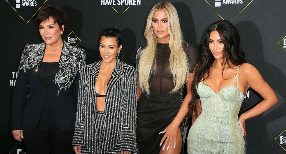 Kim le hizo pasar un momento bochornoso a su hermana Kourtney. (Foto: AFP)