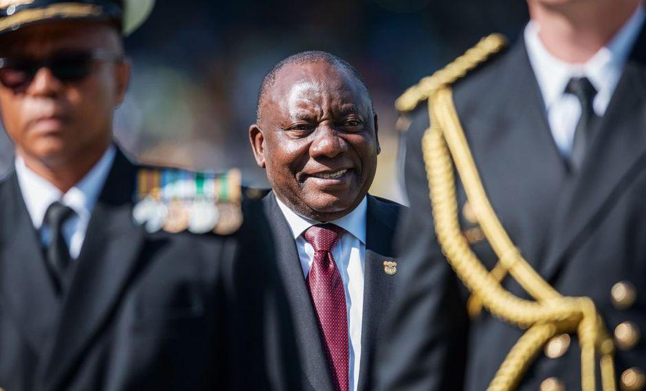 Cyril Ramaphosa jura como presidente y promete impulsar Sudáfrica