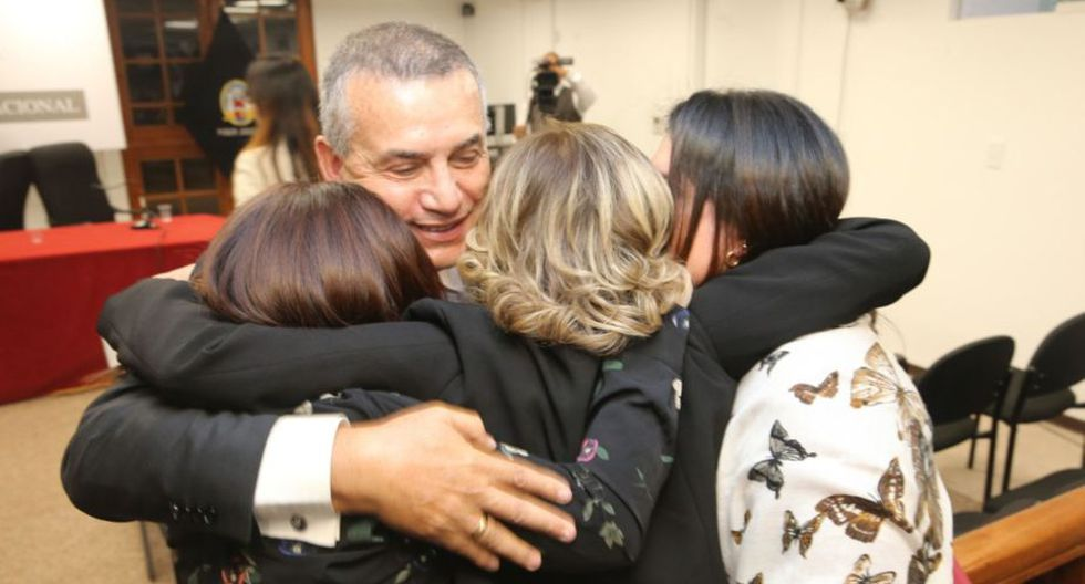 Daniel Urresti declaró tras fallo que lo absolvió del crimen de Hugo Bustíos. (Foto: Andina)
