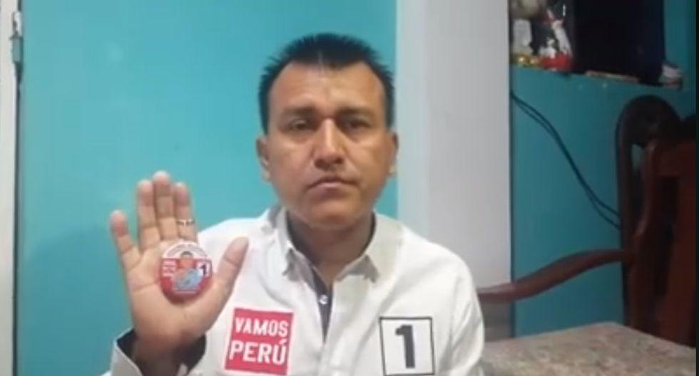 Candidato al Congreso por Huánuco solicita la devolución de la llave de su vehículo. (Foto: Difusión)