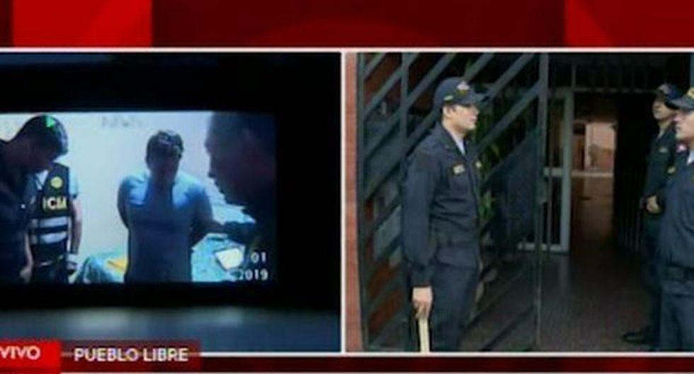 Los sujetos están siendo investigados por la Policía Nacional. (Foto: Captura/América Noticias)
