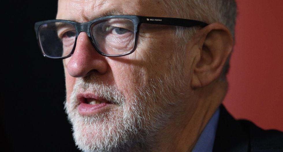 """Reino Unido: Corbyn se disculpa con el electorado tras el """"duro golpe"""" de las elecciones. (AFP)"""