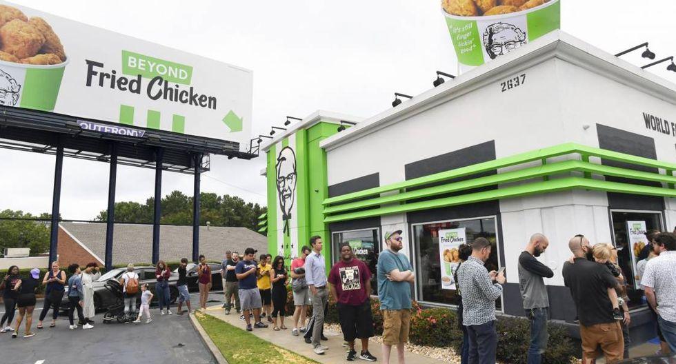 KFC lanzó su versión de pollo vegetariano en Estados Unidos. (Foto: FayerWayer)