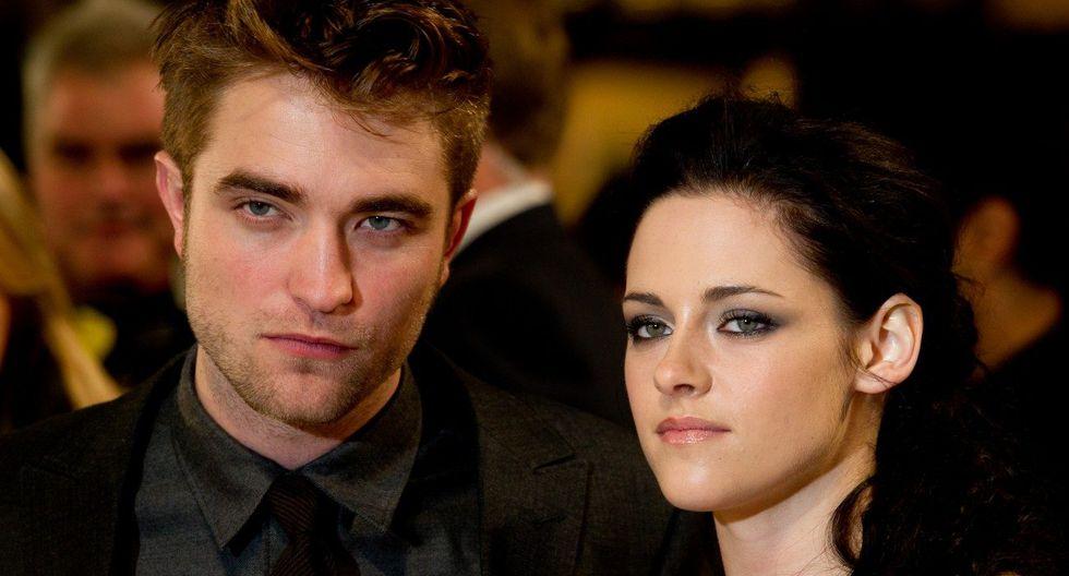 """Kristen Stewart y Robert Pattinson protagonizaron la exitosa saga de """"Crepúsculo"""". Foto: AFP"""