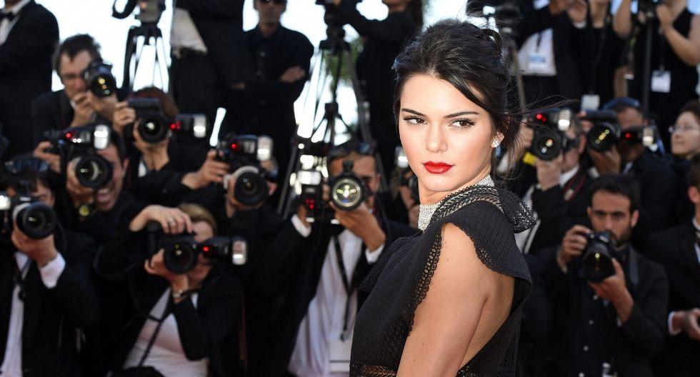 Kendall Jenner compartió en Instagram una singular foto que se hizo viral. (AFP)