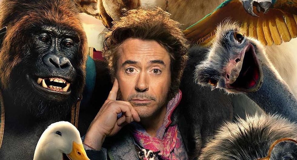 Robert Downey Jr. presentó el primer vistazo al reboot de Dr. Dolittle. (Foto: Universal)