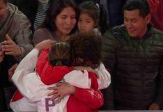 Lima 2019: el tierno abrazo de Alexandra Grande con su madre tras ganar la medalla de oro