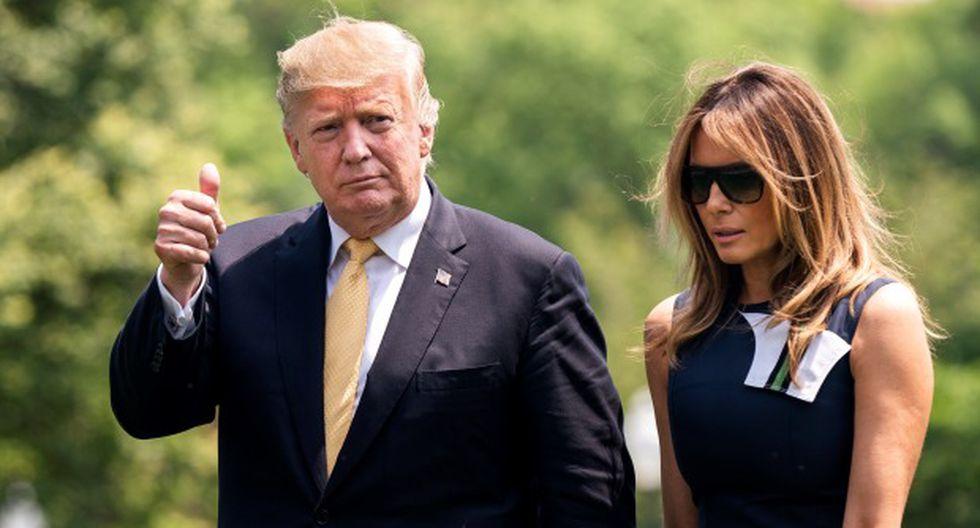 """""""¡Únete a nosotros en este histórico mitin!"""", dijo Donald Trump. (Foto: EFE)"""