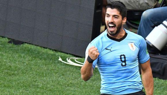 Uruguay se miden con Arabia Saudita por Rusia 2018. (AFP)