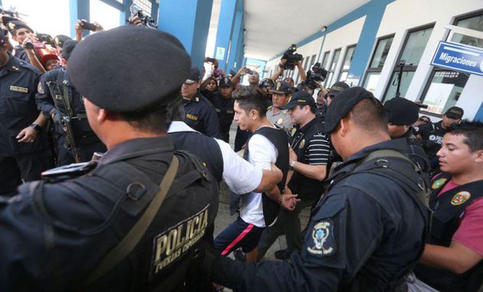 """Se le dará """"todas las garantías"""" y que su proceso se enmarcará en lo establecido en la Ley contra el Crimen Organizado. (Foto: Andina)"""