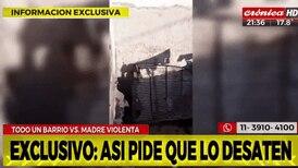 Macabro caso de maltrato en Argentina: madre amarraba en choza a sus hijos