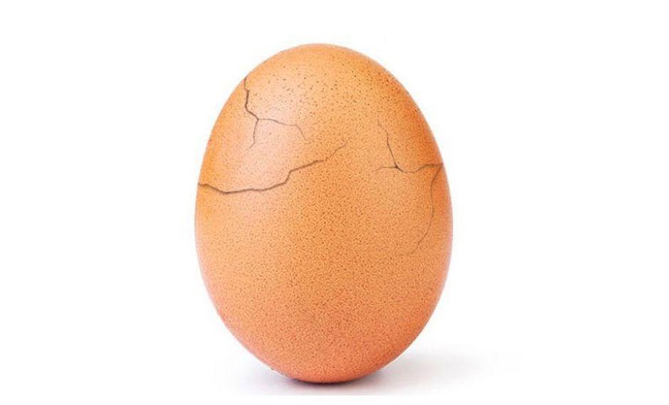 El huevo con más 'likes' de Instagram es realmente una campaña sobre salud mental