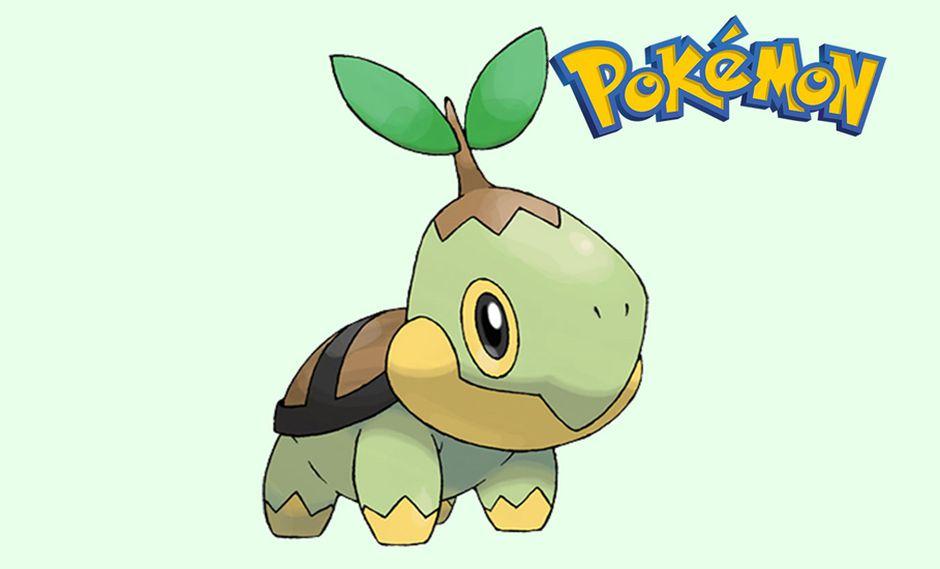 ¿Quieres saber por qué aparece Turtwig en sombra en Pokémon GO? Esta es la razón. (Foto: Pokémon)