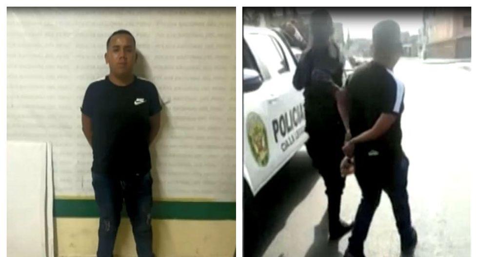 El conductor fue detenido en la avenida Juan Velasco Alvarado en el Callao. (Captura: América Noticias)