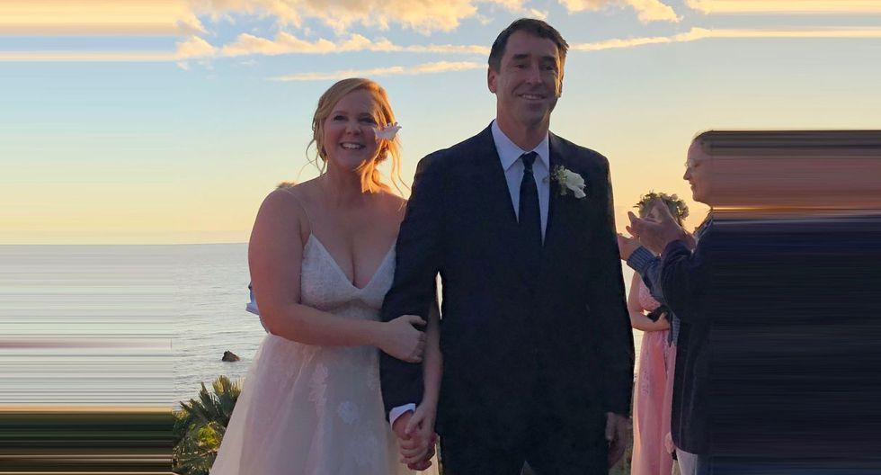 Amy Schumer y su esposo, el chef  Chris Fischer, están esperando su primer hijo. (Foto: @amyschumer)