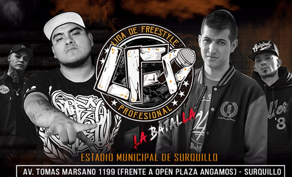 Hip hop: los mejores exponentes del freestyle llegan al Perú para la LFP