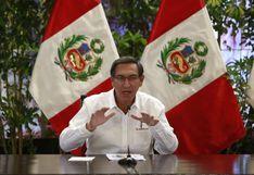 Vizcarra celebró su cumpleaños almorzando con su nieto en Palacio de Gobierno