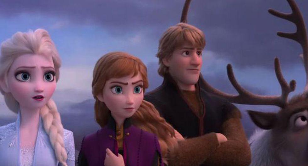 """""""Frozen 2"""" lideró la taquilla en el fin de semana largo de Acción de Gracias. (Imagen: YouTube)"""