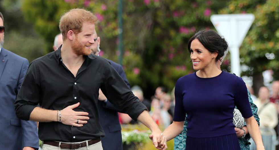 Meghan Markle y el príncipe Harry revelan la fecha en que se convertirán en padres (Foto: AFP)
