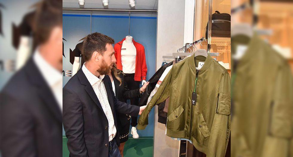 La colección está disponible en exclusiva en la tienda online TheMessiStore.com, pero parte de ella estará expuesta en la tienda Santa Eulalia de Barcelona. (Foto: @leomessi)