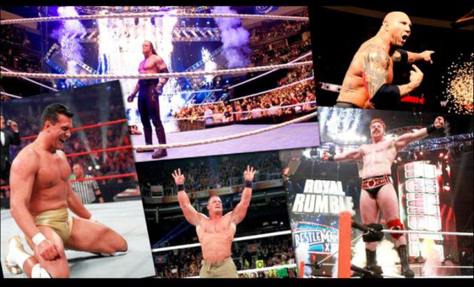 El esperado Royal Rumble se realizará este 25 de enero.