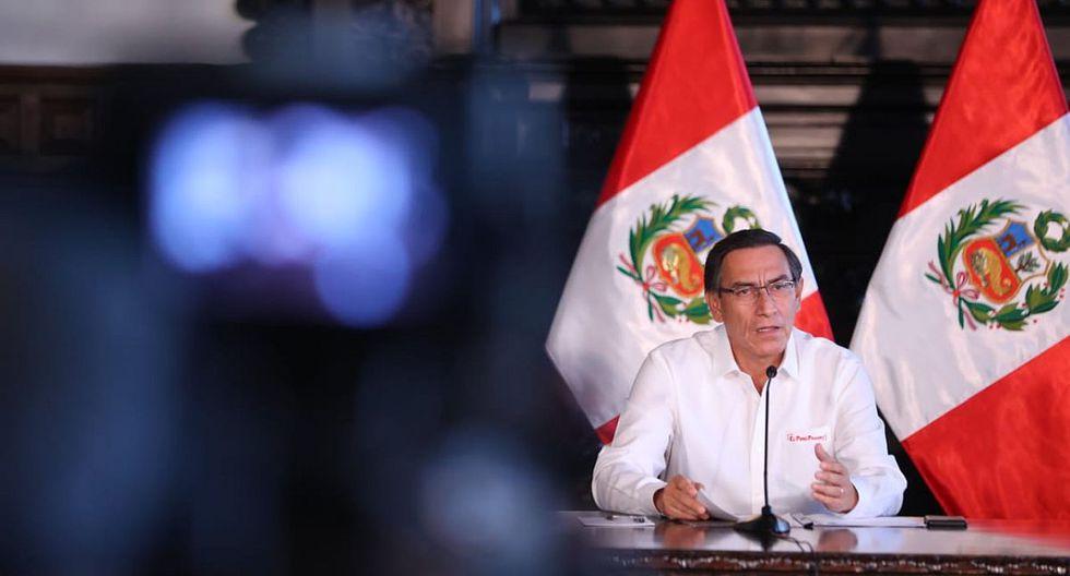 Martín Vizcarra dijo que evaluarán nuevas medidas con otras instituciones contra el coronavirus. (Foto: GEC)