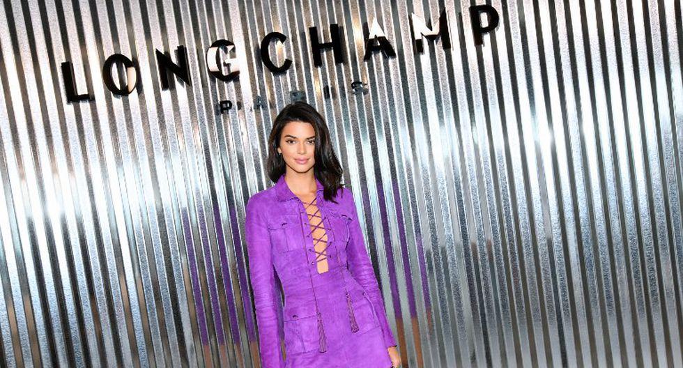 Kendall Jenner se convirtió en la modelo mejor pagada del 2018 (Fotos: AFP)