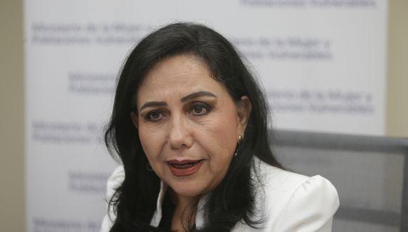 Ministra Montenegro lamentó los casos de violación a menores. (Foto: GEC)