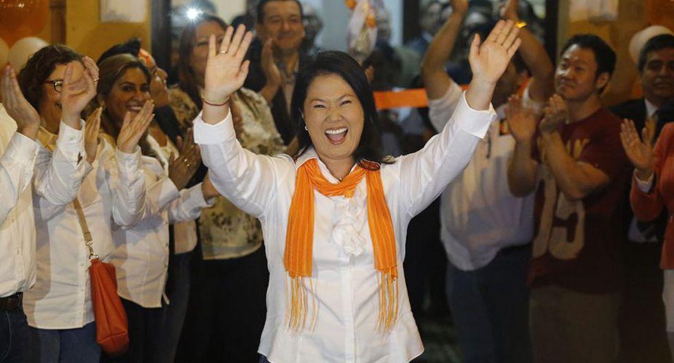 Keiko Fujimori lideró su bancada de 73 congresistas en el Parlamento. (Foto: GEC)