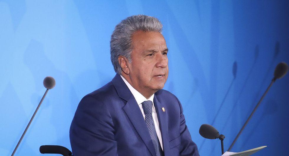 """Lenín Moreno dijo que su gobierno dialogará """"con quienes tengan la decisión de dialogar"""". (Foto: AFP)"""
