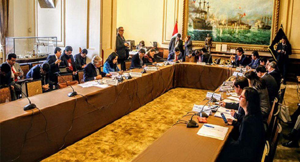 Comisión de Justicia no aprobó reforma del CNM. (Foto: Agencia Andina)