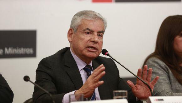 El primer ministro, César Villanueva, participó en la votación del referéndum desde Loreto. (Foto: GEC)
