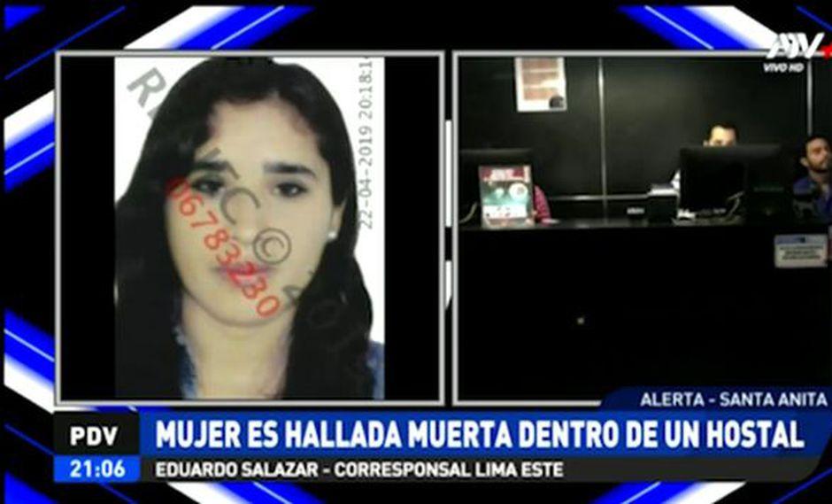 Feminicidio en Santa Anita: sujeto mató a cuchilladas a su ex pareja en un hostal