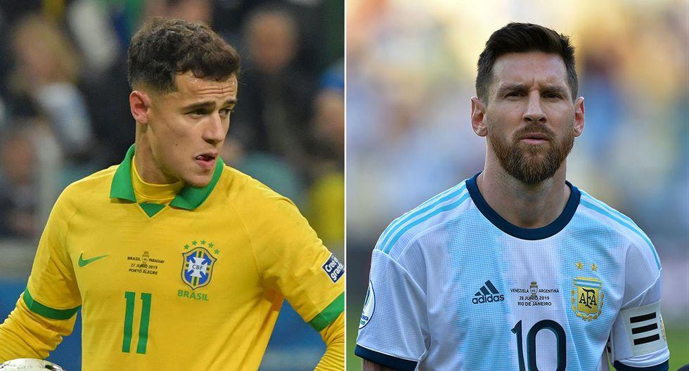 Brasil vs. Argentina por el pase a la final de la Copa América 2019. (Foto: AFP)