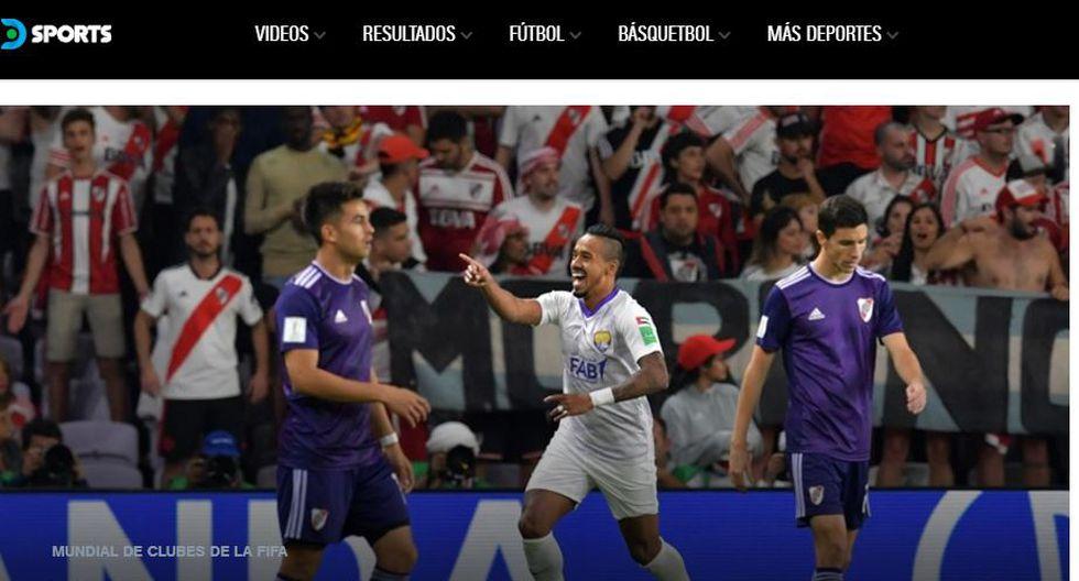 DirecTV Sports también muestra su sorpresa por eliminación de River Plate.