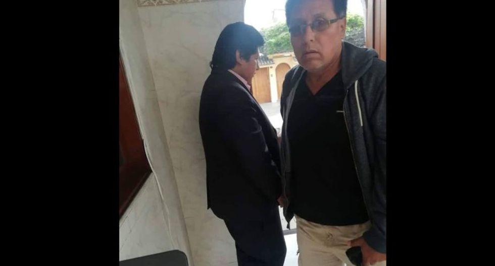 Edwin Oviedo fue retirado de su vivienda por la Policía y la fiscalía. (Foto: Difusión)