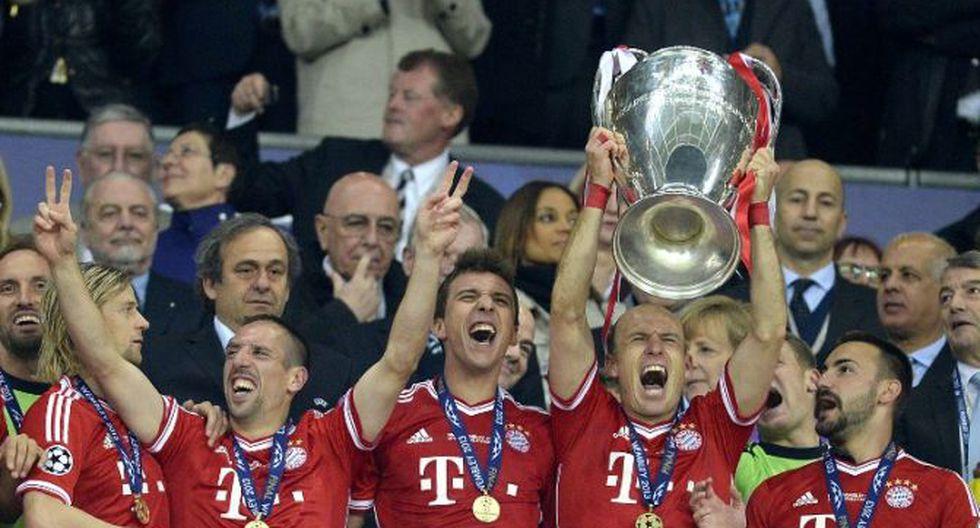 Bayern Munich se corona campeón de la Champions League al vencer 2-1 al Borussia Dortmund.