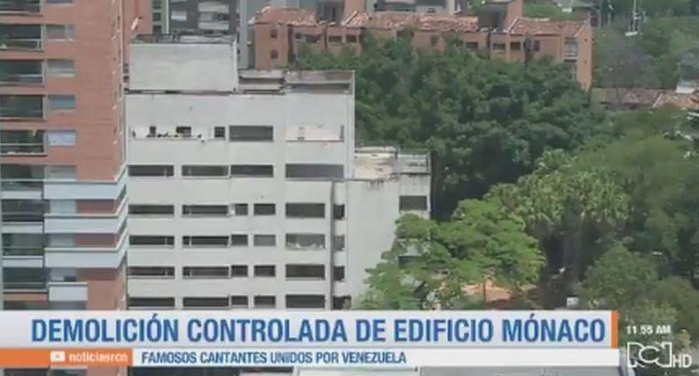 Derrumban el edificio Mónaco de Pablo Escobar en Colombia | FOTOS