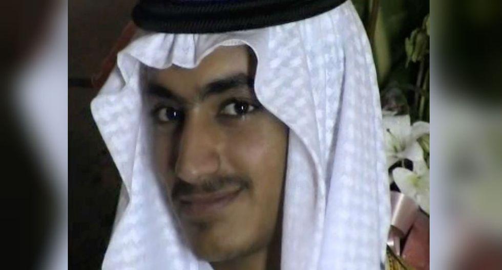 """Hamza Bin Laden, de 30 años, estaba en la lista negra de Estados Unidos de personas acusadas de """"terrorismo"""". (Foto: AFP)"""