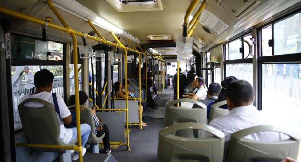 La Municipalidad de Lima ha tomado medidas para reducir el aforo en los buses del Metropolitano. (Difusión)