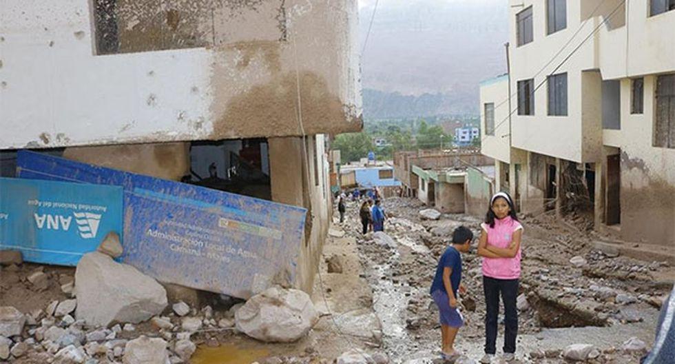 Tres huaicos se registraron el jueves en el distrito de Aplao, en la región Arequipa, que dejaron como saldo tres muertos. (Foto: Gobierno Regional de Arequipa)