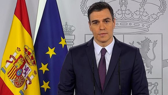 Pedro Sánchez anuncia prórroga del estado de alarma en España hasta el 21 de junio. (EFE/Moncloa).