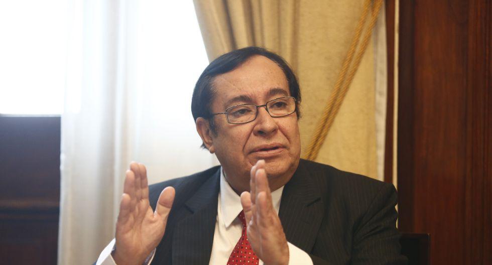 Víctor Prado destacó la rapidez con que actuó el gobierno peruano en iniciar el proceso de extradición. (Foto: GEC)