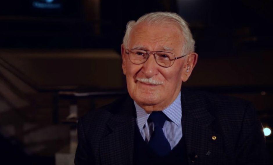 """Hombre de 98 años que sobrevivió al Holocausto asegura tener """"el secreto de la felicidad"""""""
