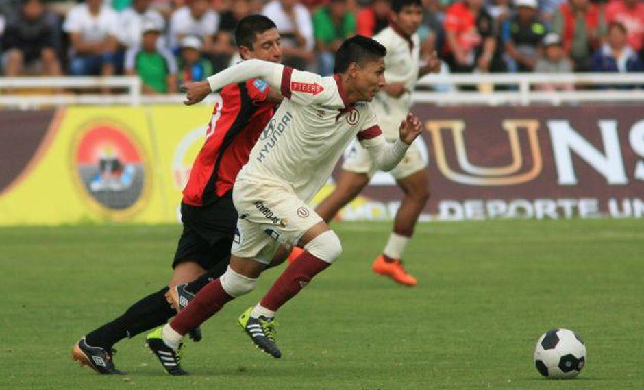 Raúl Ruidíaz anotó su segundo gol del año. El cuadro crema sigue en deuda con su hinchada. (Foto:USI/Julio Angulo)