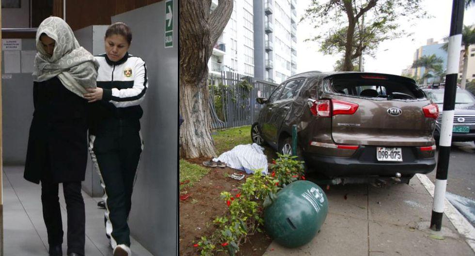 El Ministerio Público solicitó 6 meses de prisión preventiva contra la conductora Melisa González Gagliuffi. (Foto: GEC)